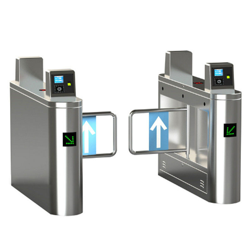 304 Stainless Steel Swing Barrier Gate Electronic Security Entrance Sliding Turnstile