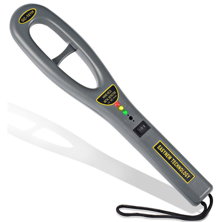 GC101H Hand Held Security Metal Detector Wand Energy Saving For Airport Security Checking
