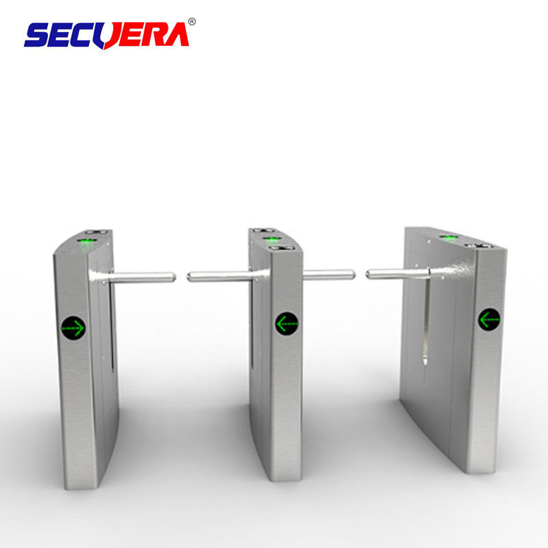 RFID Control Wide Channel Security Turnstile Gate Automatic Swing LED Indicator Function
